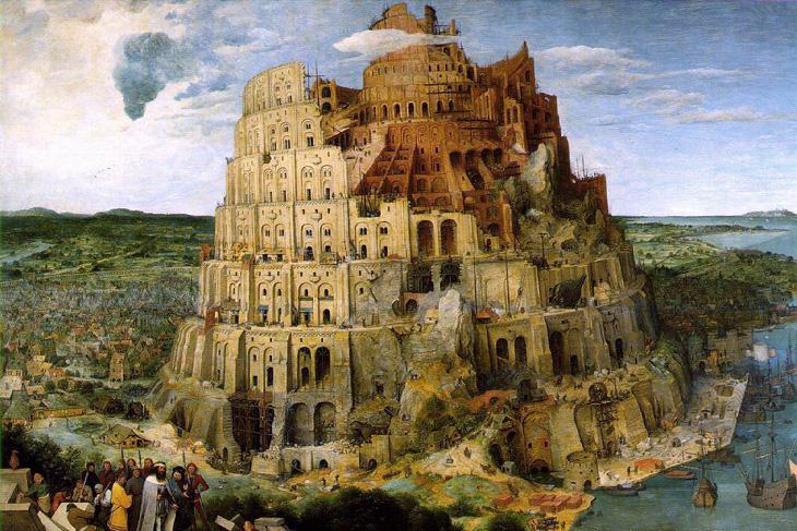 quattrocento; Pieter Bruegel - Torre de Babel