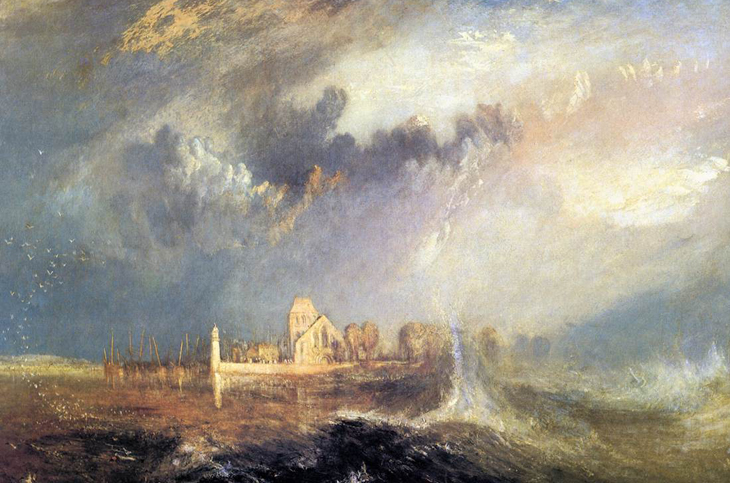 William Turner | Quillebeuf, at the Mouth of Seine (1883). Museu Calouste Gulbenkian
