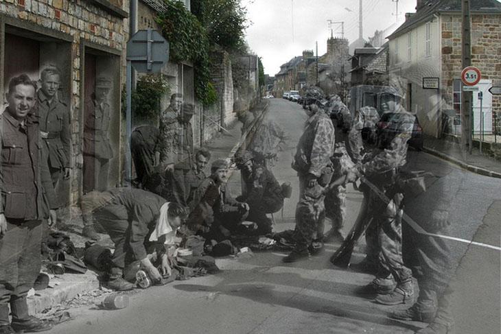 """Fotografias: o passado e presente em """"fantasmas de guerra"""""""