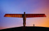 the angel of the north by Antony Gormley from getty creative