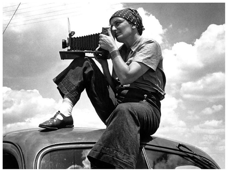 Dorothea Lange, a fotógrafa da Depressão - arte ref