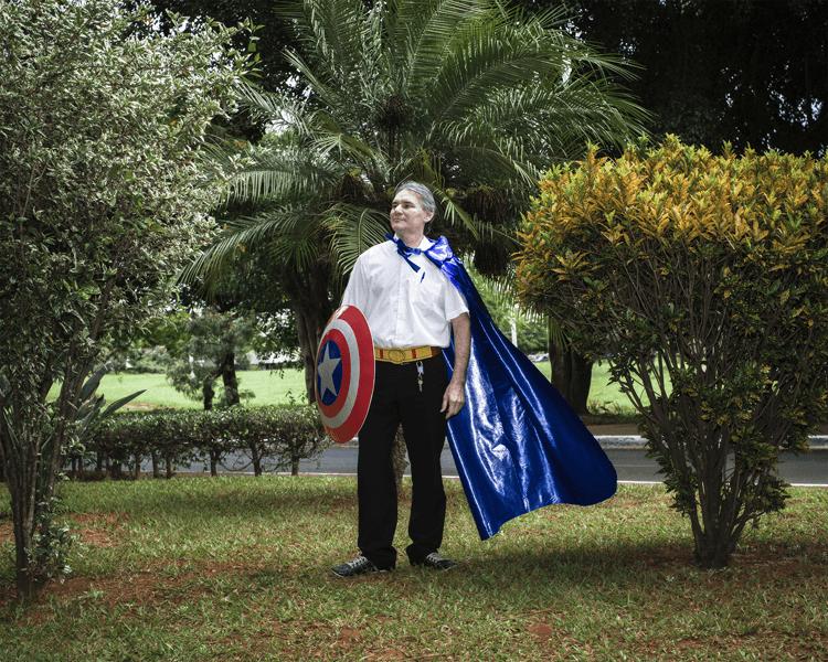 Foto Diego Bresani - Superheróis das superquadras - Raimundo