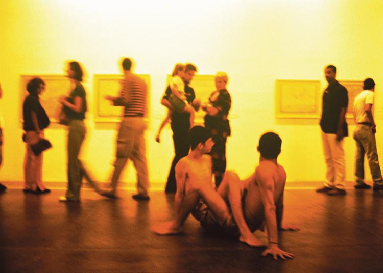 9. Lima, Laura_Performance Quadris de homem=carne mulher=carne, 1995_foto Romulo Fialdini
