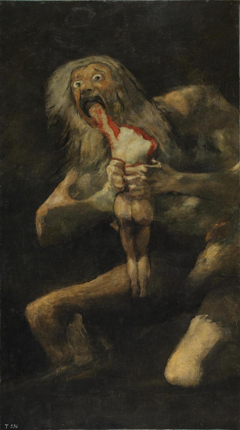 Goya_ Saturno devora um filho