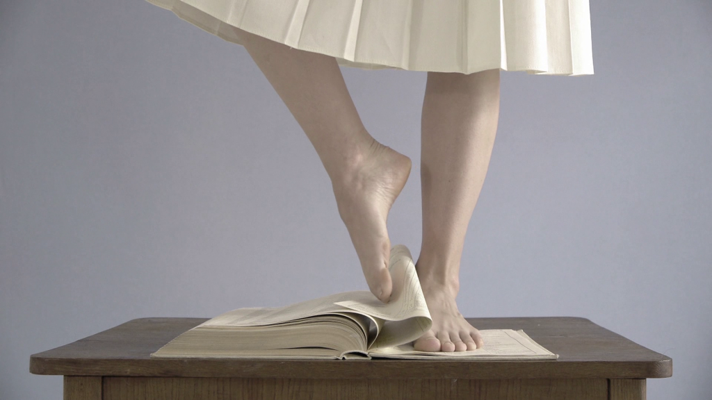 Agata Michowska - Lesson of History 2012 video 25'26-