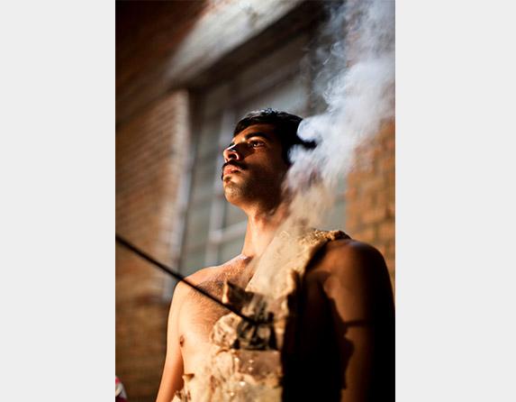 De compaixão cínica, 2005, Rodrigo Braga_4 obras fotográficas tamanho 2 900x700