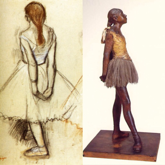 Edgar Degas. Little Dancer, Fourteen Year Old