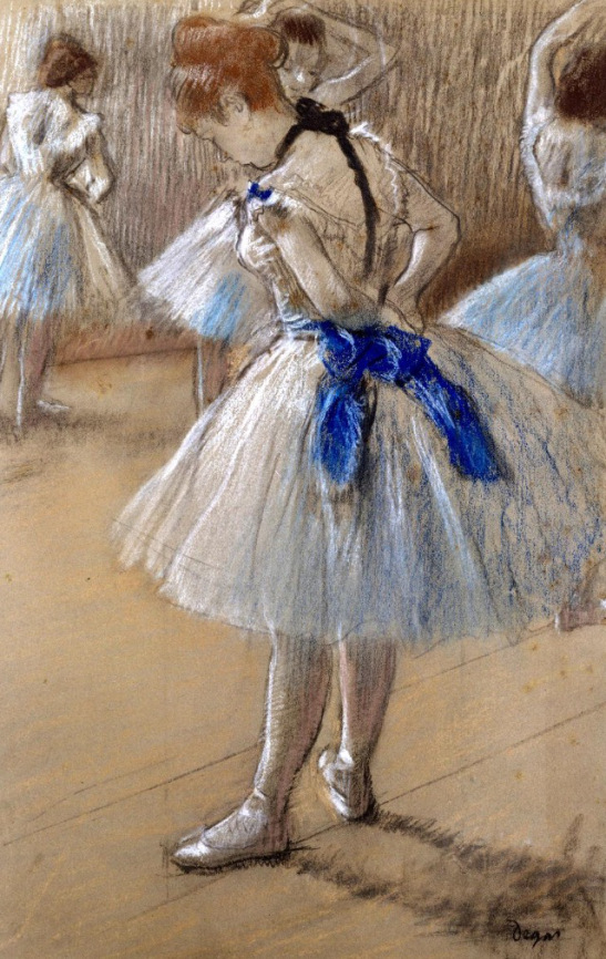 Edgar Degas. The Dance Studio