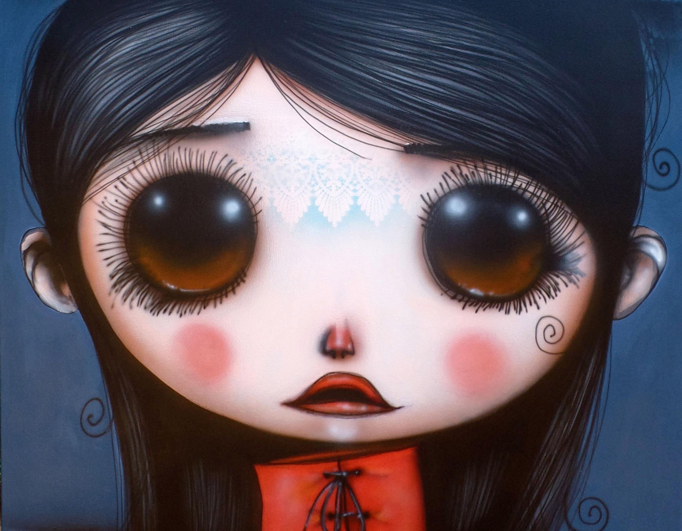O mundo de Alice no País das Maravilhas pelos olhos de Vermelho e Violeta