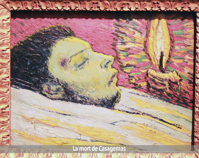 La mort de Casagemas