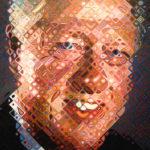 bill clinton - chuck close