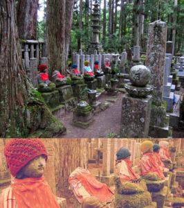 Okuno-in Cemetery, Mt. Koya, Japão