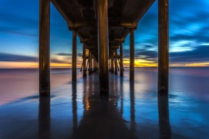 huntington pier sunset - ale rodrigues
