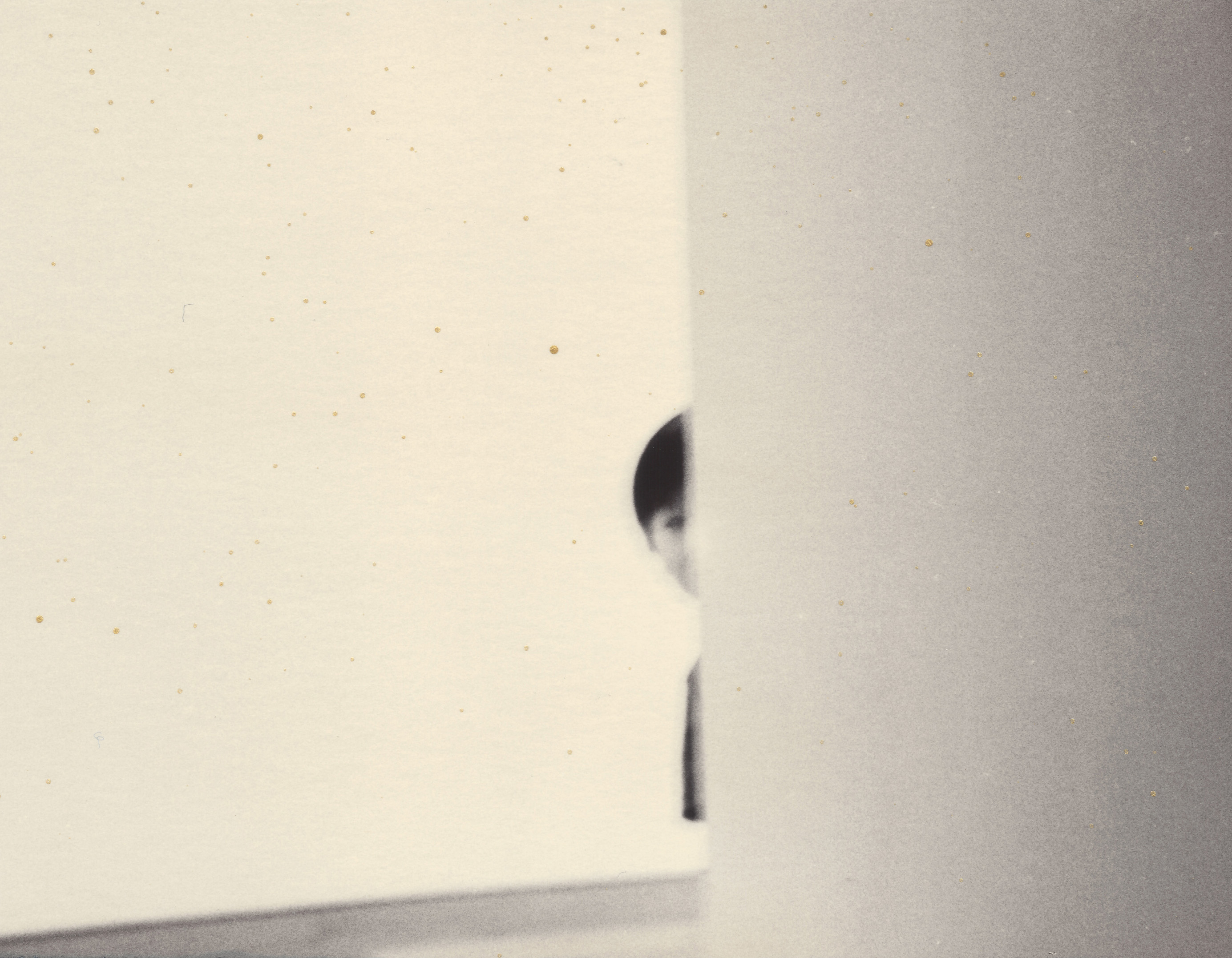 Masao Yamamoto - Nakazora 1419 - fotografia gelatina e prata e tecnica mista