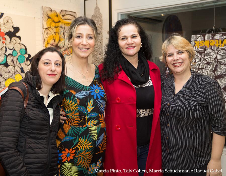 Marcia Pinto, Taly Cohen, Marcia Schuchman e Raquel Gabel