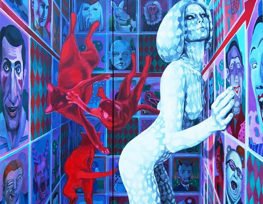 Uma viagem no mundo surrealista de Sonja Tines!