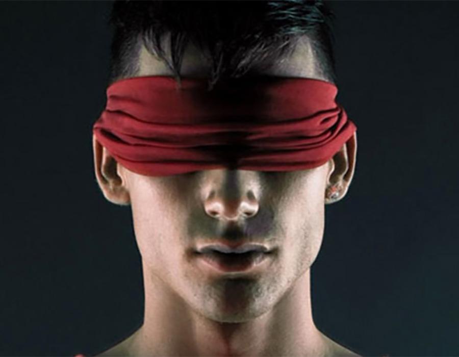 A arte captada por um fotógrafo cego.