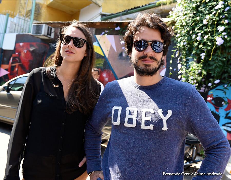Fernanda Cerri e Jaime Andrada