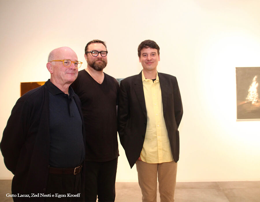 Guto Lacaz, Zed Nesti e Egon Kroeff 20160816_1271 - Cópia