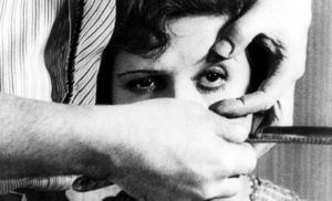 Luis Buñuel e Salvador Dali – Um cão Andaluz – 1929.