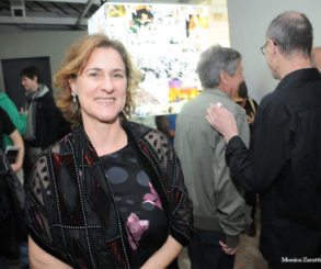 """Fotos da abertura da mostra """"Raros Vintages & Inéditos"""" na Galeria Virgílio."""