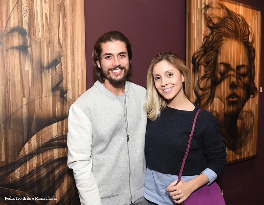 Pedro Ivo Brito e Maria Flavia