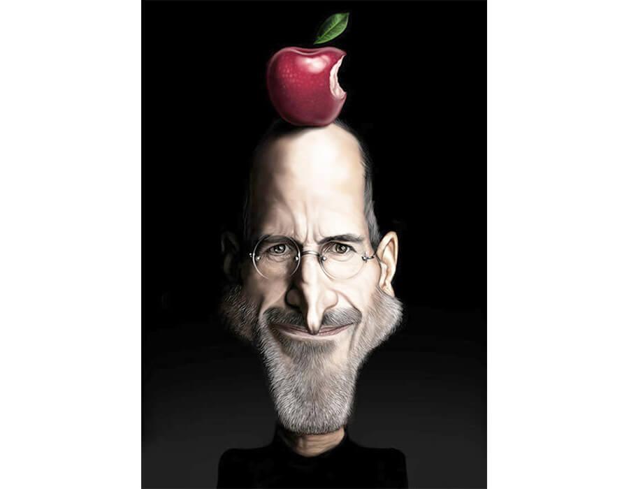 Steve Jobs (Caricatura- JAM)