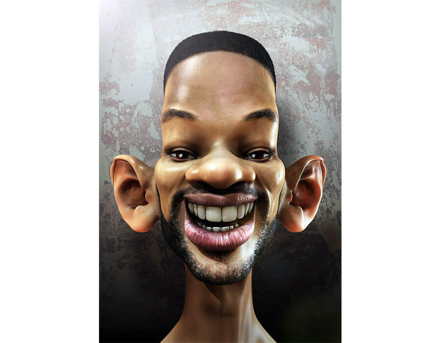 Will Smith (Caricatura- MR Peculiar)