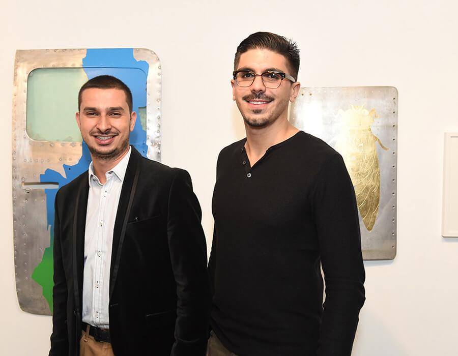 Allan Seabra e Ian Duarte Lucas