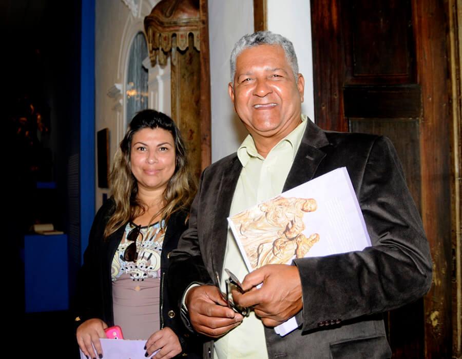 Aureni Moreno e Joaquim Pereira Antunes Filho