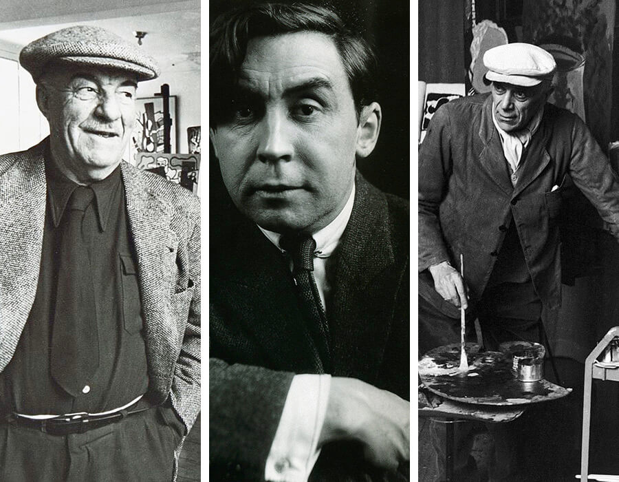Movimentos artísticos; Fernand Leger, Albert Gleizes e Georges Braque
