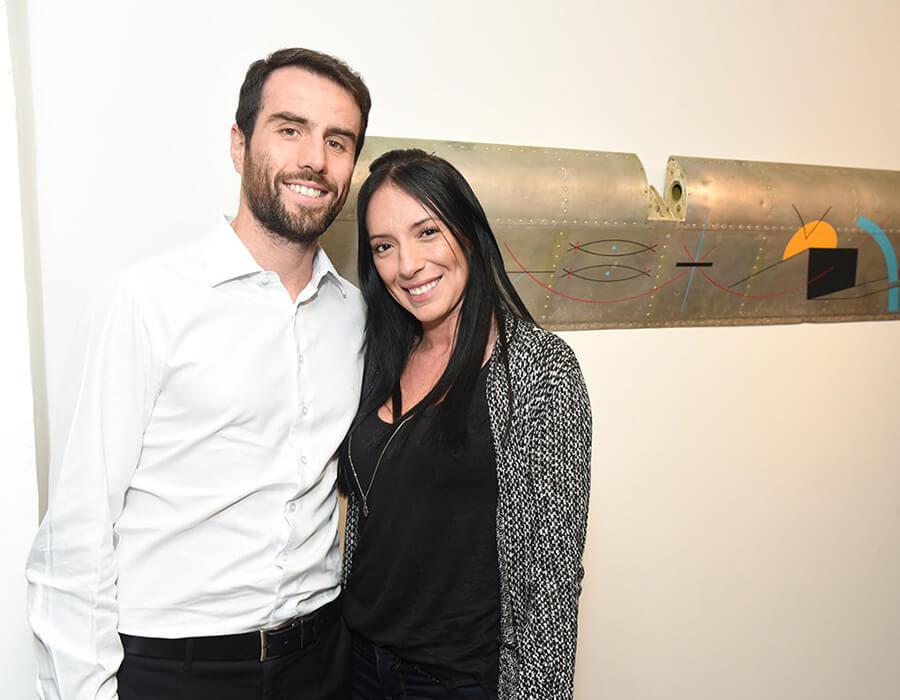 Fernando Tritapepe e Sheine Rodrigues