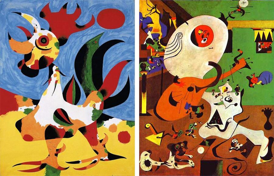 Obras de Joan Miró