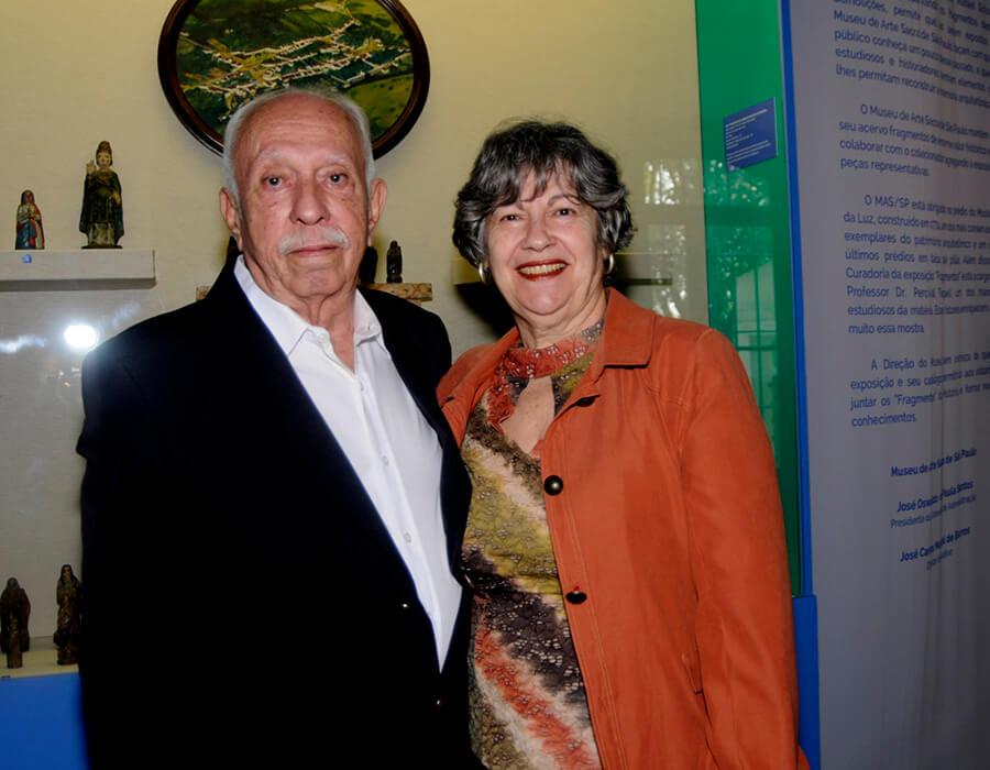 José Carlos Marçal e Doralice de Barros