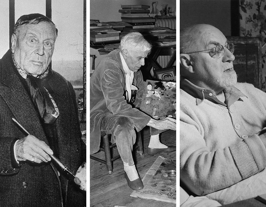 Maurice de Vlaminck, Georges Braque e Henri Matisse