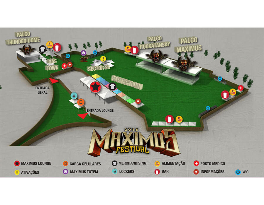 Maximus Festival- Mapa