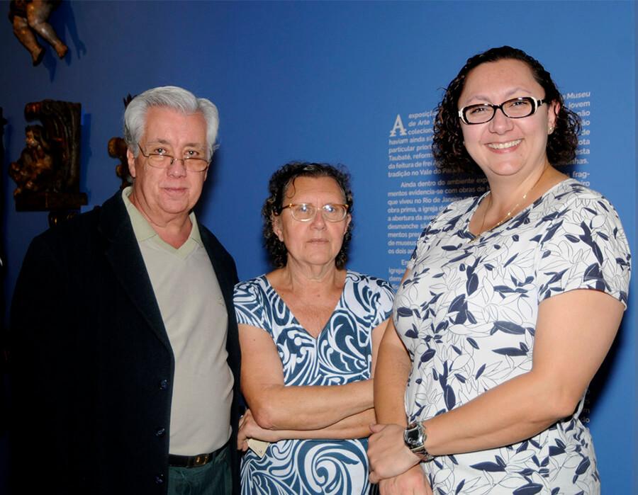 Pedro Luiz Motta Correa, Olivia Arila e Daniela Arila