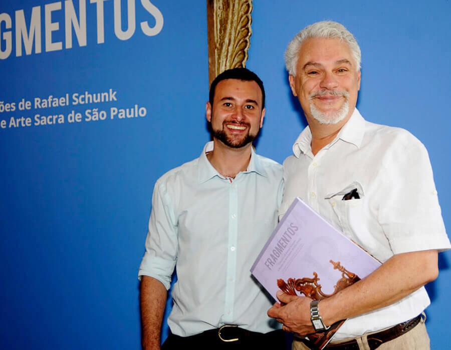 Rafael Schunk e Percival Tirapelli