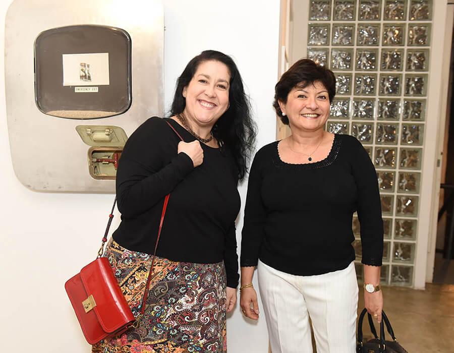 Silvia Helena Cardoso e Nivea Castro