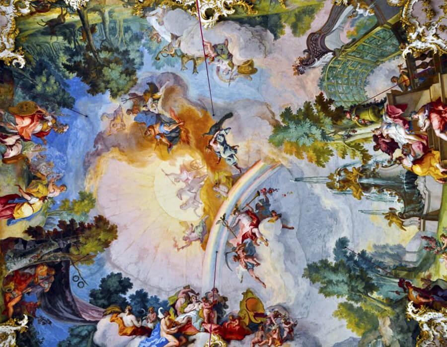 Fabuloso Você sabe qual a diferença entre Rococó e Barroco? – arte ref QF07