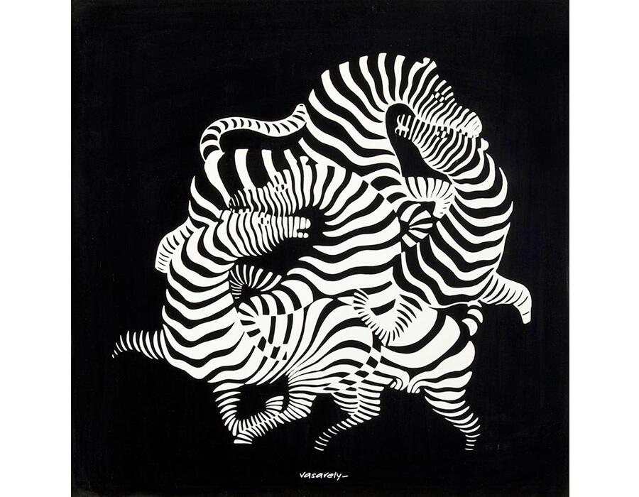 op art; victor-vasarely-900x700-2