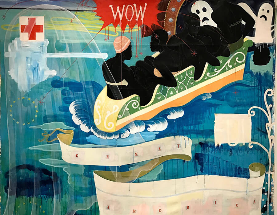 Dois trabalhos de arte que trazem à tona a questão política americana