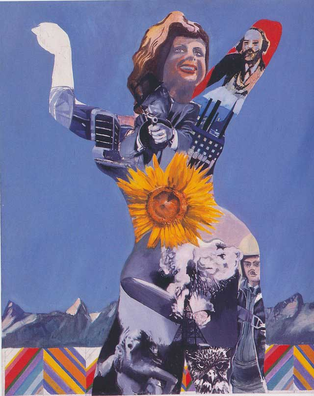Pauline Boty - mulheres na Por Art