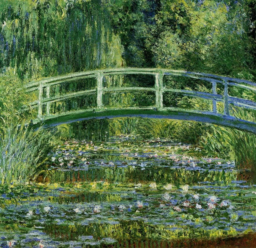 The Water Lily Pond - Claude Monet (1899)