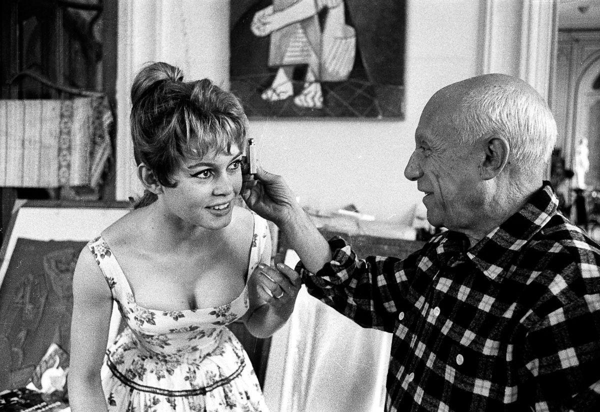 Quando Pablo Picasso encontrou Brigitte Bardot