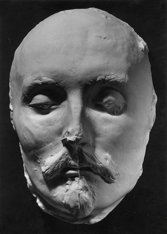 Incríveis máscaras mortuárias mostram os rostos de Shakespeare, Napoleão e outras personalidades