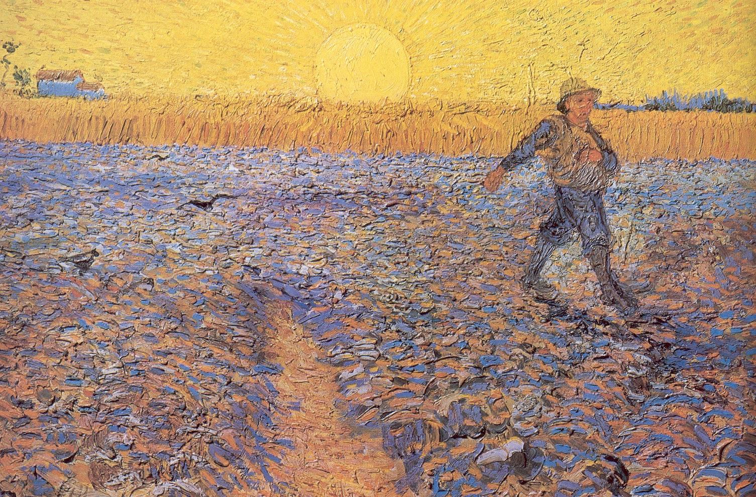 O Semeador (1888) - Vincent Van Gogh
