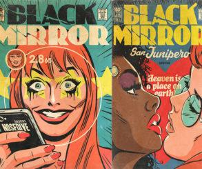 Seria a série Black Mirror inspirada em quadrinhos?