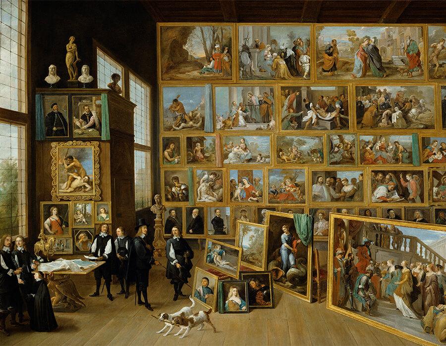 Museus - colecionador de arte