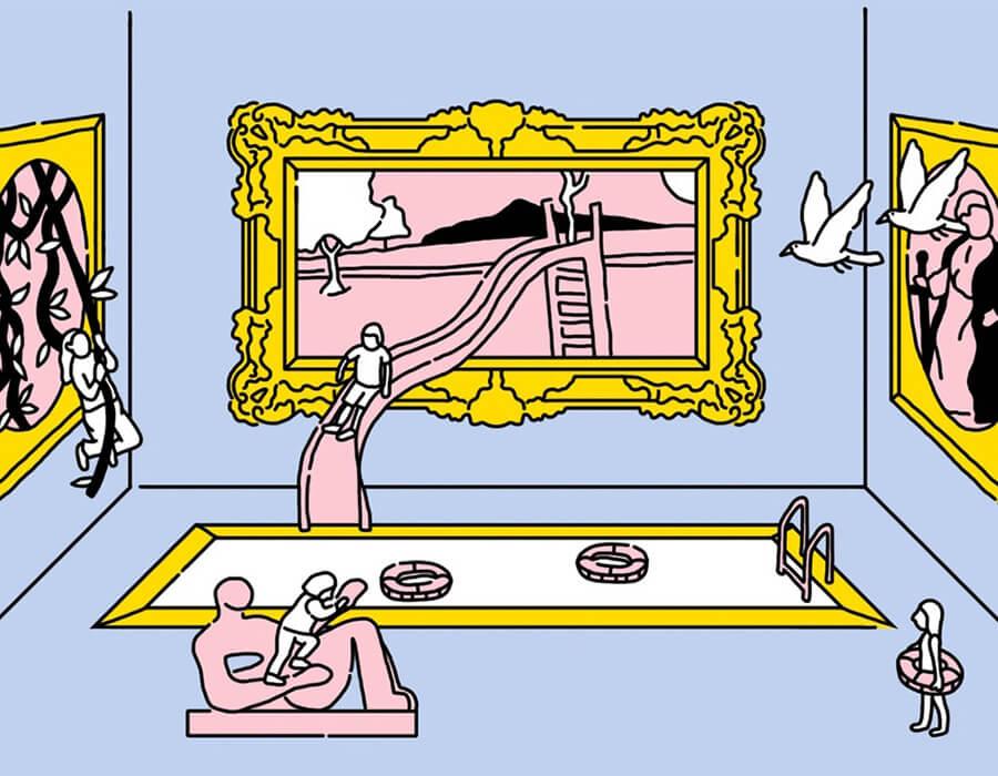 Como fazer seus filhos se interessarem por arte